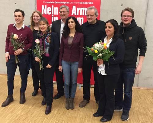 Alexander Relea-Linder, Claudia Haydt, Heike Hänsel, Bernd Riexinger, Jessica Tatti, Tobias Pflüger, Gökay Akbulut, Michel Brandt